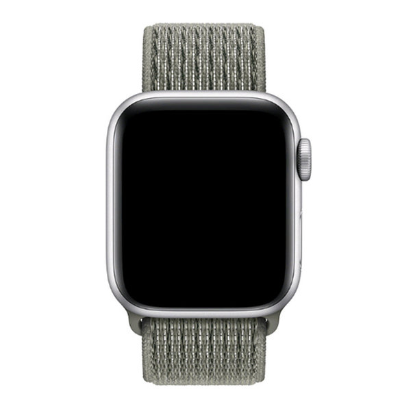 123Watches Apple watch nylon sport loop band - brouillard d'épinette