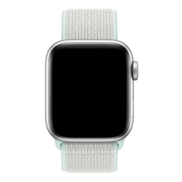 123Watches Apple watch nylon sport loop band - blauwgroen tint