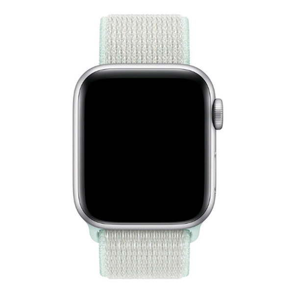 123Watches Apple watch nylon sport loop band - teinte turquoise