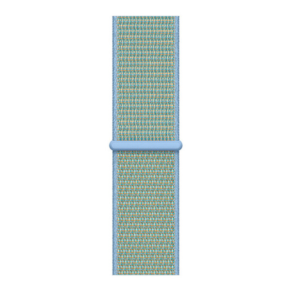 123Watches Apple watch nylon sport loop band - bleuet