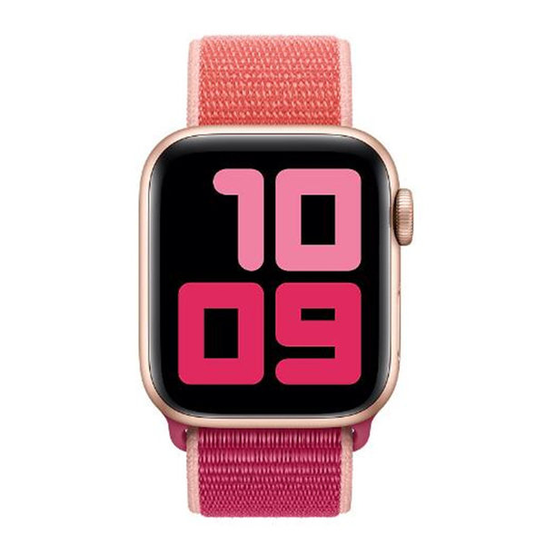 123Watches Apple watch nylon sport loop band - Grenade