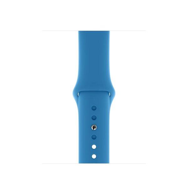 123Watches Apple watch sport band -  surf blauw