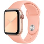 123Watches Apple Watch sport sangle - pamplemousse