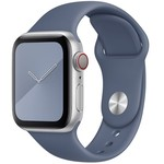 123Watches Apple watch sport band -  Alaska blauw