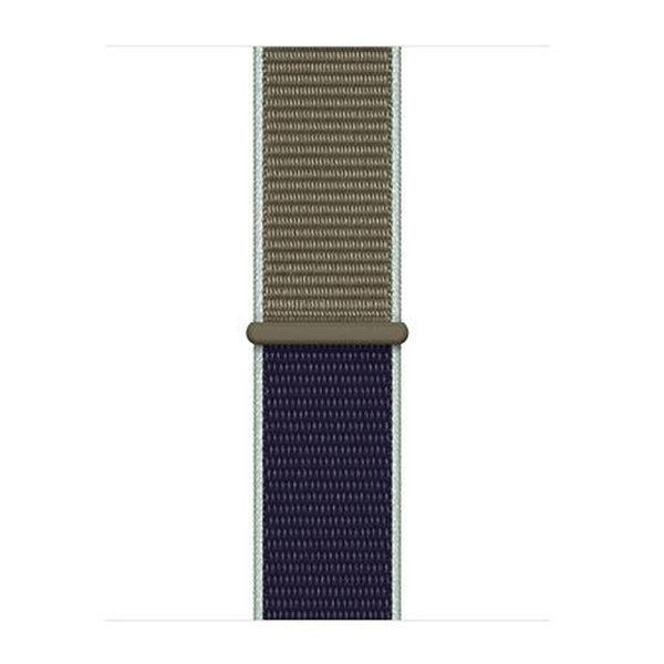 123Watches Apple watch nylon sport loop band - khaki