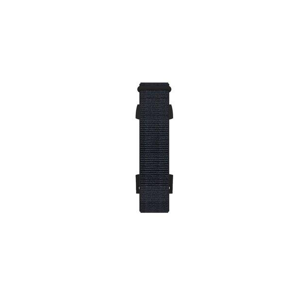 123Watches Fitbit charge 3 & 4 nylon sport band - zwart zand
