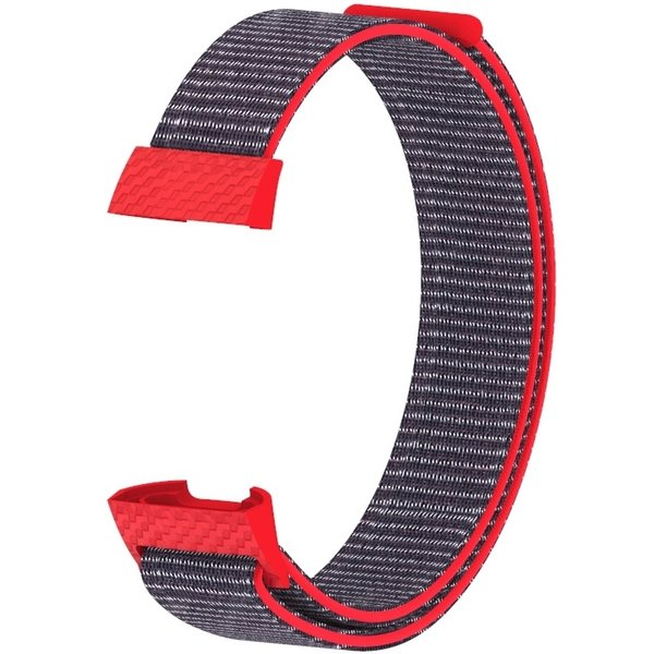 123Watches Fitbit charge 3 & 4 nylon sport band - bright pink