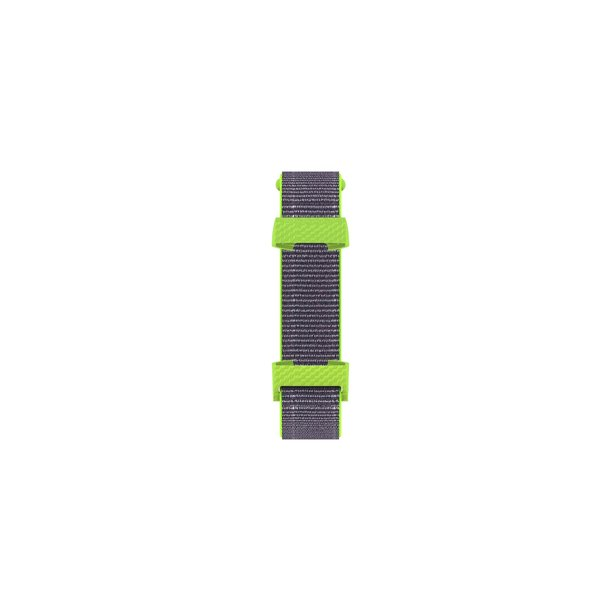 123Watches Fitbit charge 3 & 4 nylon sport band - jaune vif