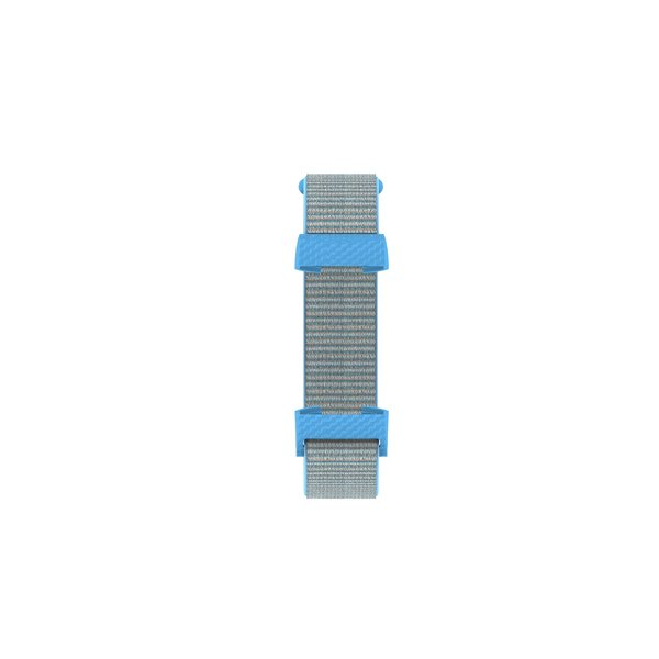 123Watches Fitbit charge 3 & 4 nylon sport band - bleuet