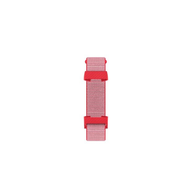 123Watches Fitbit charge 3 & 4 nylon sport band - rose vif