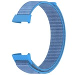 123Watches Fitbit charge 3 & 4 nylon sport band - blauw meer