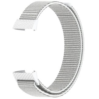 Merk 123watches Fitbit charge 3 & 4 nylon sport band - seashell