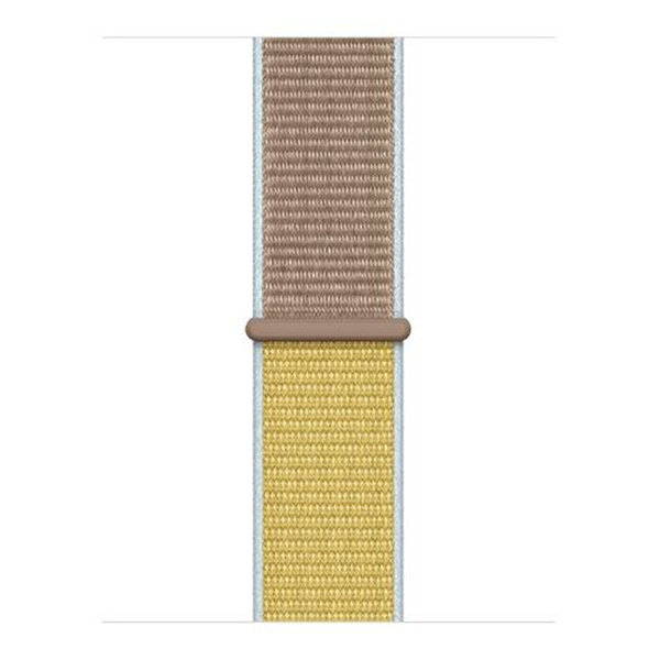 123Watches Apple watch nylon sport loop band - camel