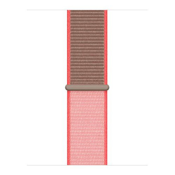 123Watches Apple watch nylon sport loop band - neon roze