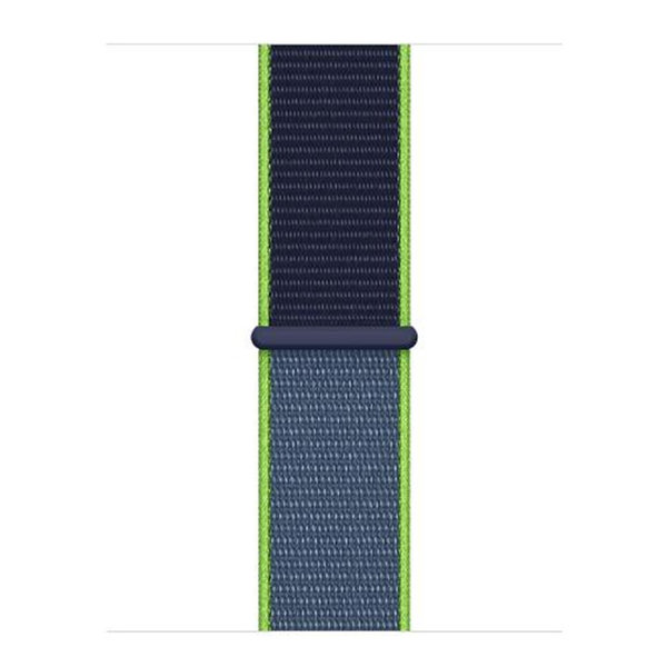 123Watches Apple watch nylon sport loop band - citron vert fluo