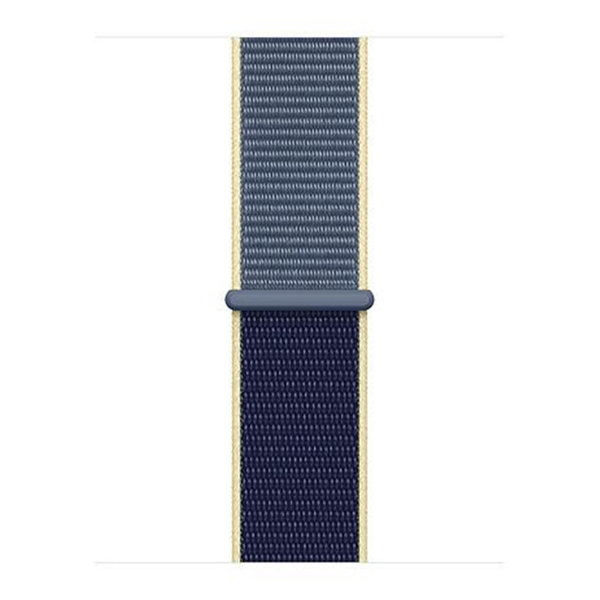 123Watches Apple watch nylon sport loop band - alaskan blue