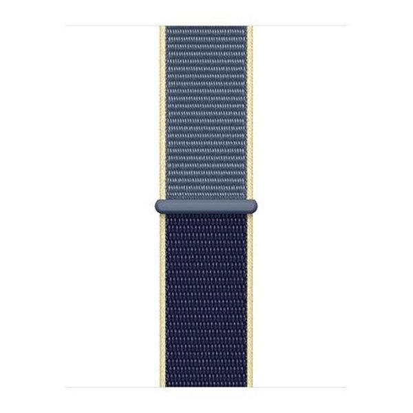 123Watches Apple watch nylon sport loop band - bleu d'Alaska