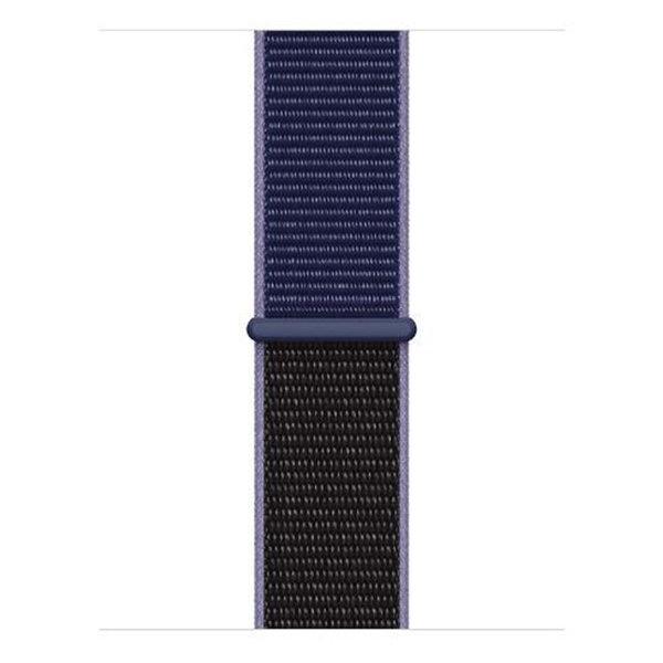 123Watches Apple watch nylon sport loop band - bleu nuit
