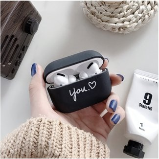 Merk 123watches Apple AirPods PRO hard case - black you