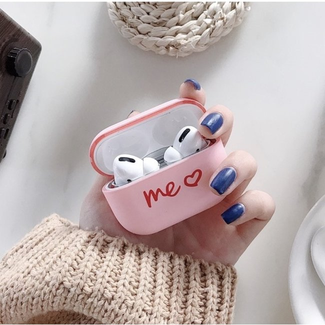 123Watches Apple AirPods PRO hard case - pink you