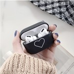 123Watches Apple AirPods PRO hard case - black heart
