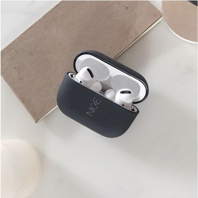Merk 123watches Apple AirPods PRO hard case - nice black