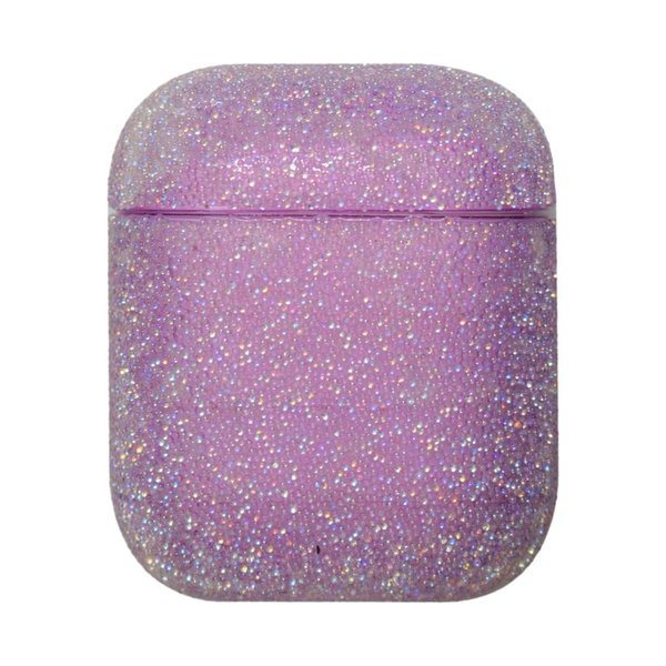 123Watches Apple AirPods 1 & 2 glitter hard case - Violet