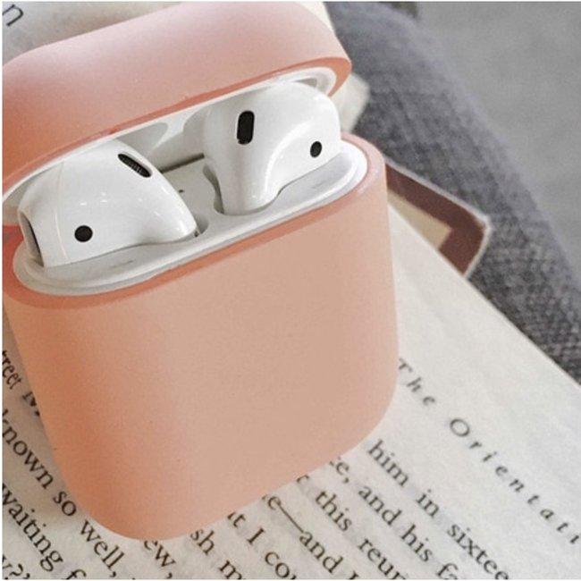 Apple AirPods 1 & 2 hard case - beige