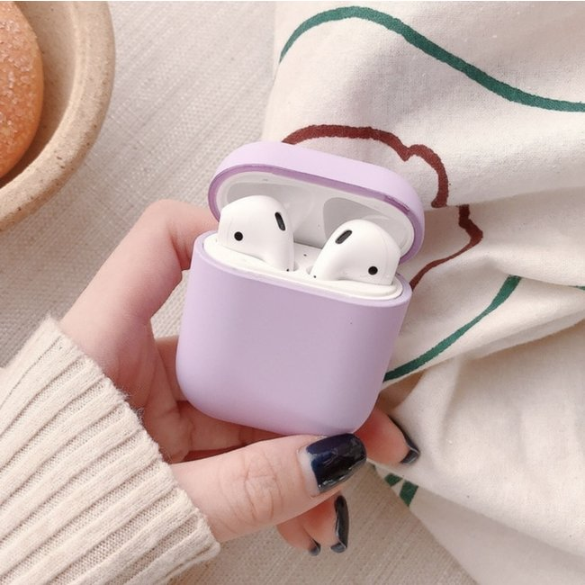 Merk 123watches Apple AirPods 1 & 2 hard case - Violet