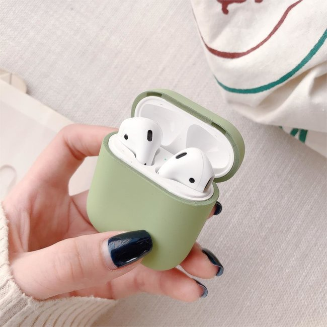 Apple AirPods 1 & 2 hard case - lichtgroen