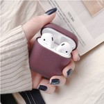 123Watches Apple AirPods 1 & 2 hard case - dark purple