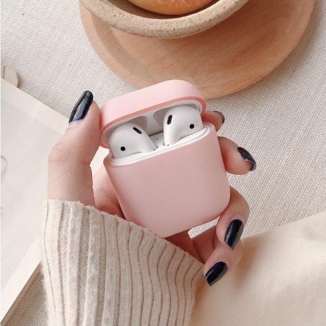 Apple AirPods 1 & 2 hard case - roze