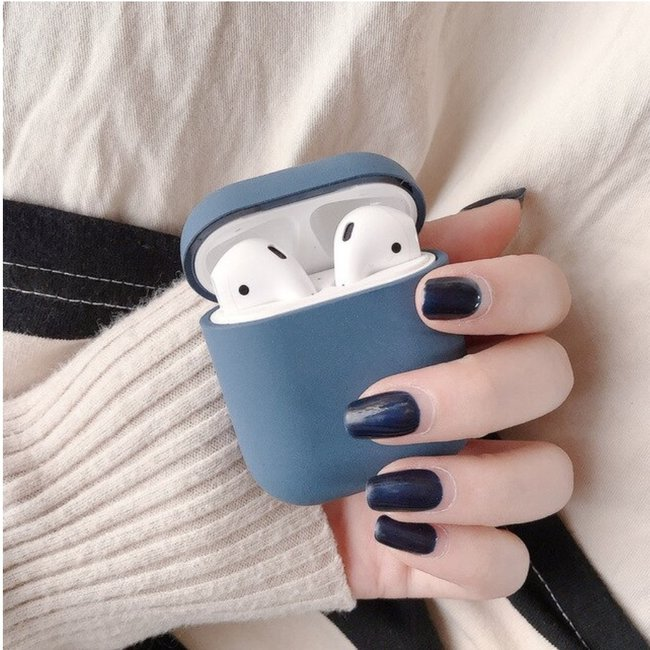Apple AirPods 1 & 2 hard case - blue
