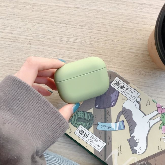 Apple AirPods PRO solid hard case - green