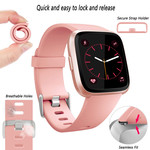 123Watches Fitbit versa sport band - roze