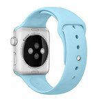 123Watches Apple Watch sport sangle - turquoise