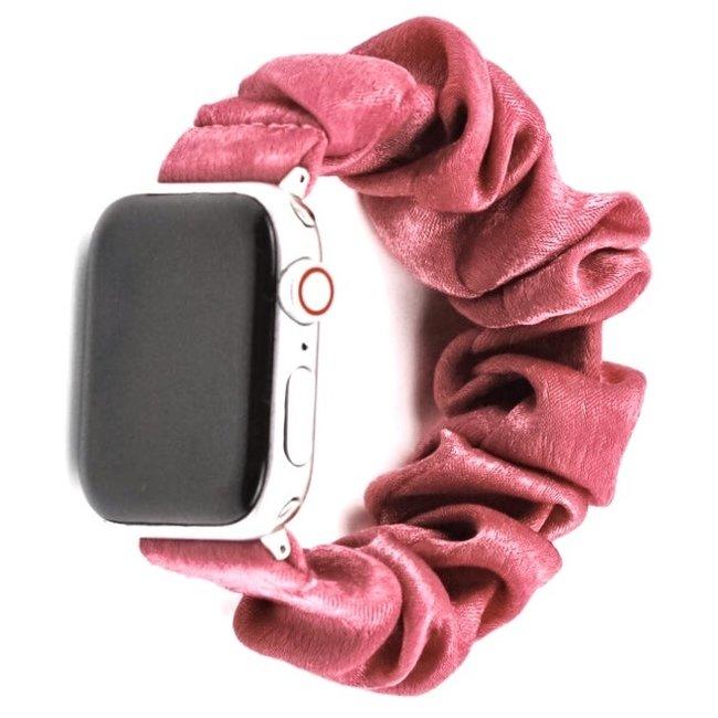 123Watches Apple watch scrunchie band - pink