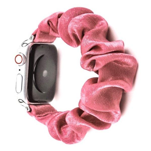 123Watches Apple watch scrunchie band - roze