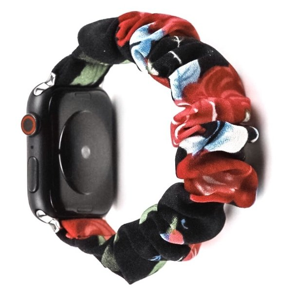 123Watches Apple watch scrunchie band - rozen mix