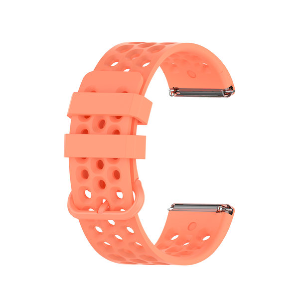 123Watches Fitbit Versa bande de points de sport - orange