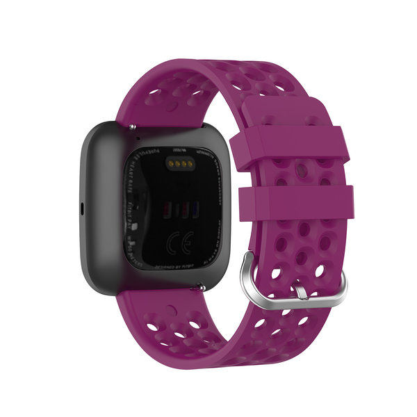 123Watches Fitbit Versa sport point band - paars