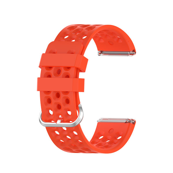 123Watches Fitbit Versa sport point band - rood
