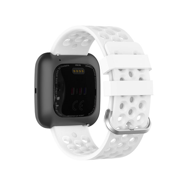 123Watches Fitbit Versa sport point band - wit