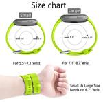 123Watches Fitbit versa sport sangle - vert