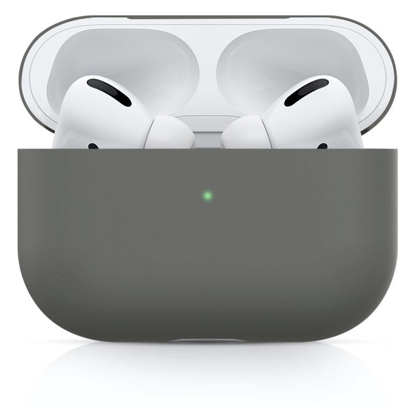 123Watches Apple AirPods PRO solid soft case - gray
