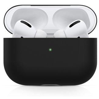 123Watches Apple AirPods PRO effen soft case - zwart