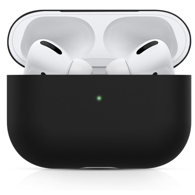 Apple AirPods PRO effen soft case - zwart