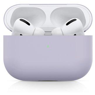 Merk 123watches Apple AirPods PRO effen soft case - paars