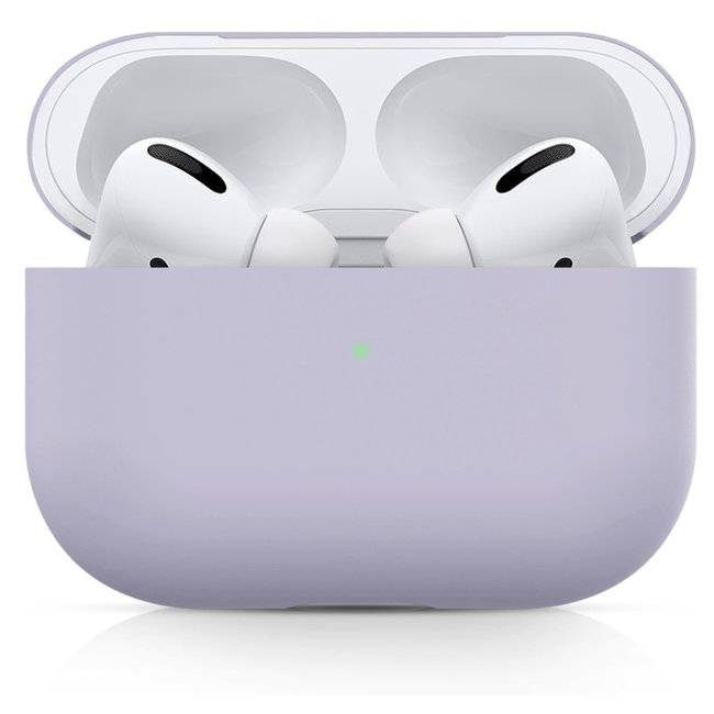 Apple AirPods PRO effen soft case - paars