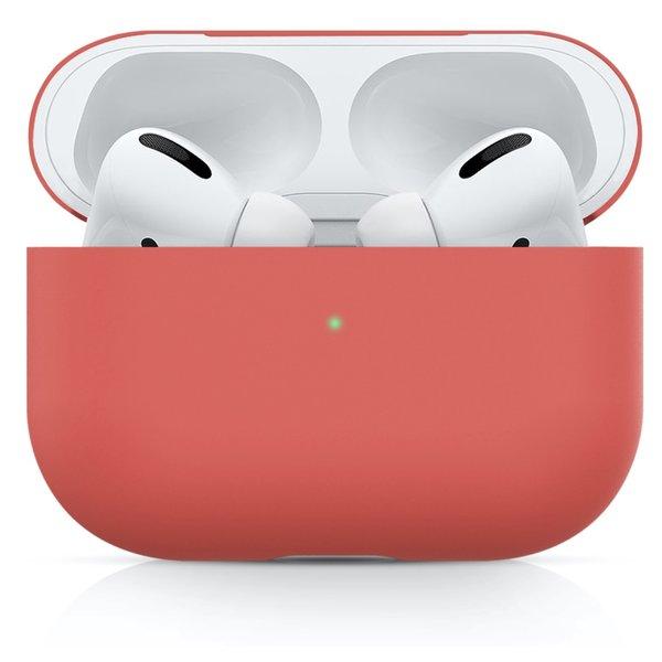 123Watches Apple AirPods PRO effen soft case - watermeloen rood